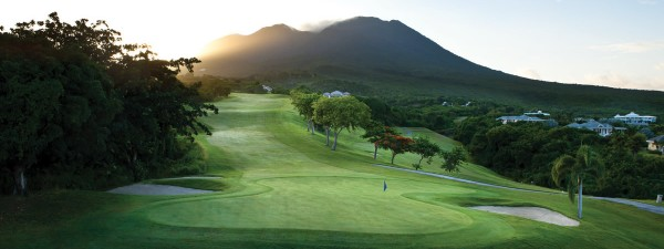Golf course at Four Seasons, Nevis