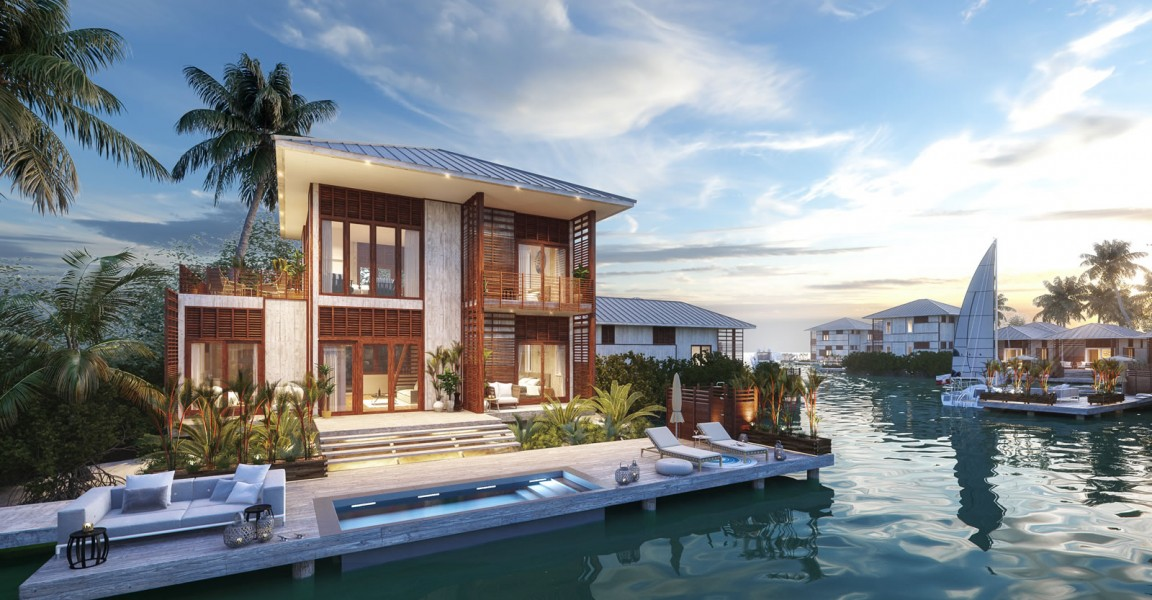 3 bedroom luxury lagoon homes for sale  placencia  belize