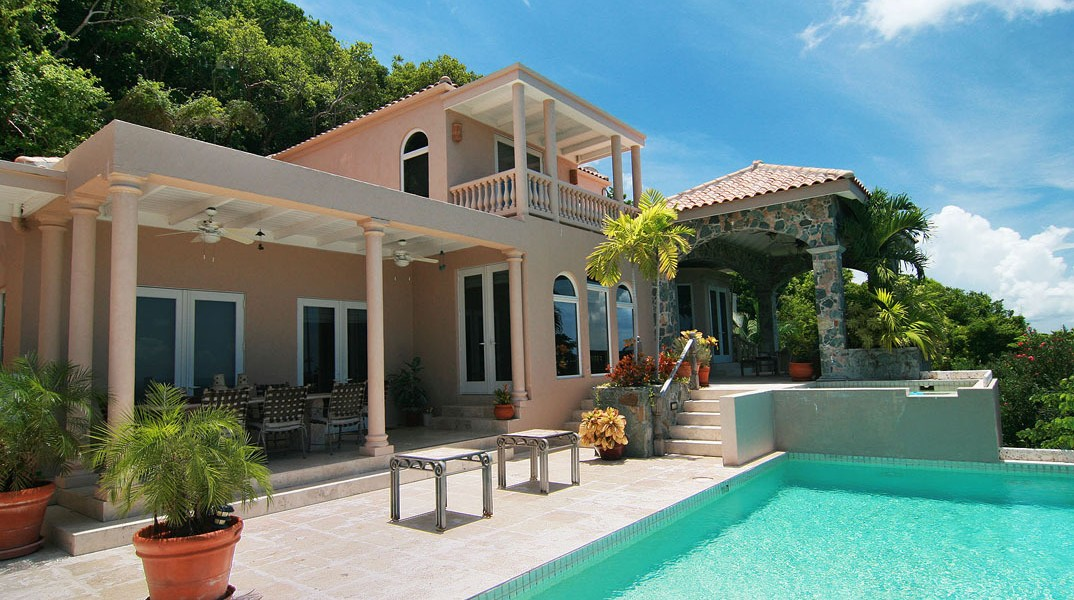 Property on the virgin islands share