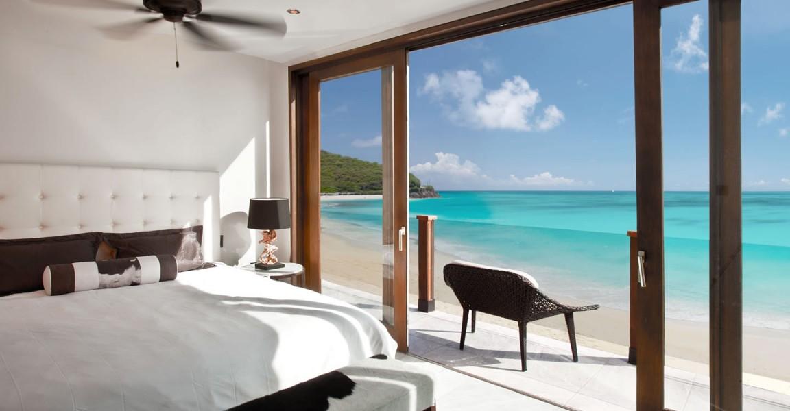 Beachfront apartments for sale, Antigua - bedroom