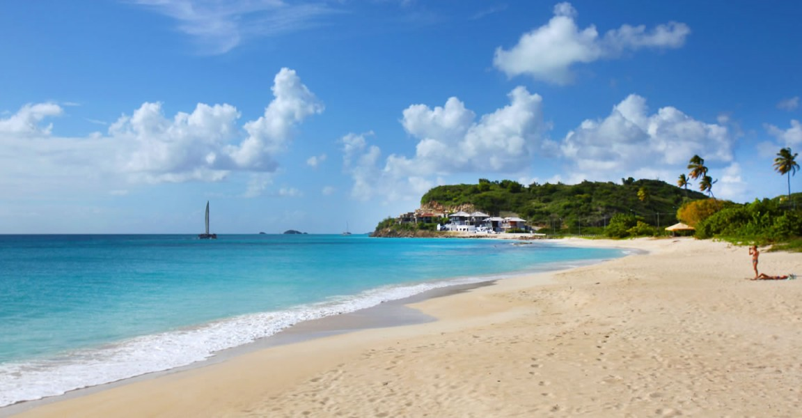 Beachfront apartments for sale, Antigua - beach and sea