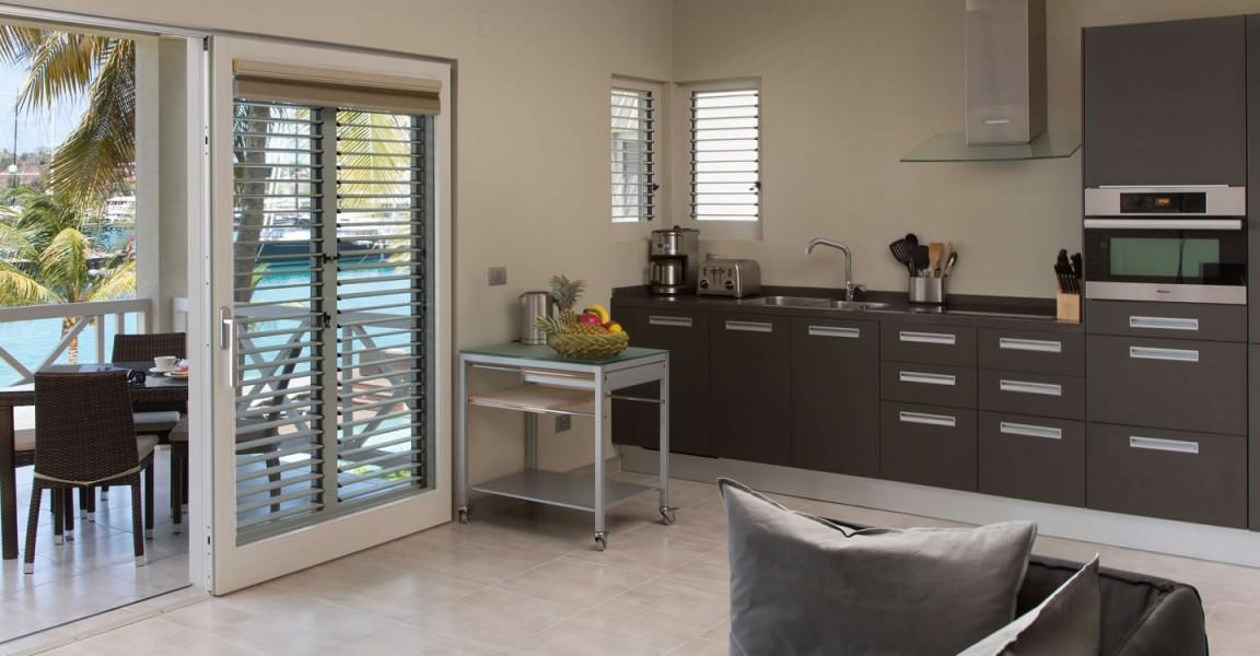 Beachfront apartments for sale, Falmouth Harbour, Antigua - kitchen