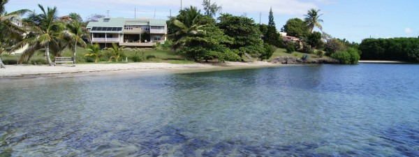 Beachfront home for sale, Lance aux Epines, Grenada
