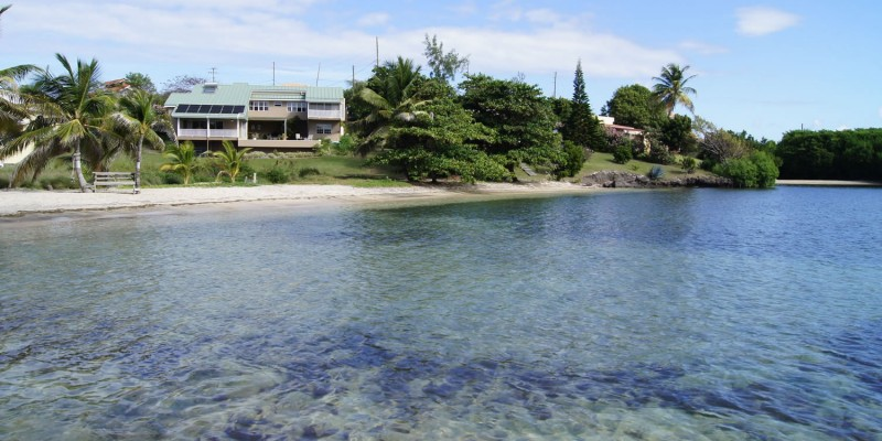 Beachfront home for sale, Lance aux Epines, Grenada