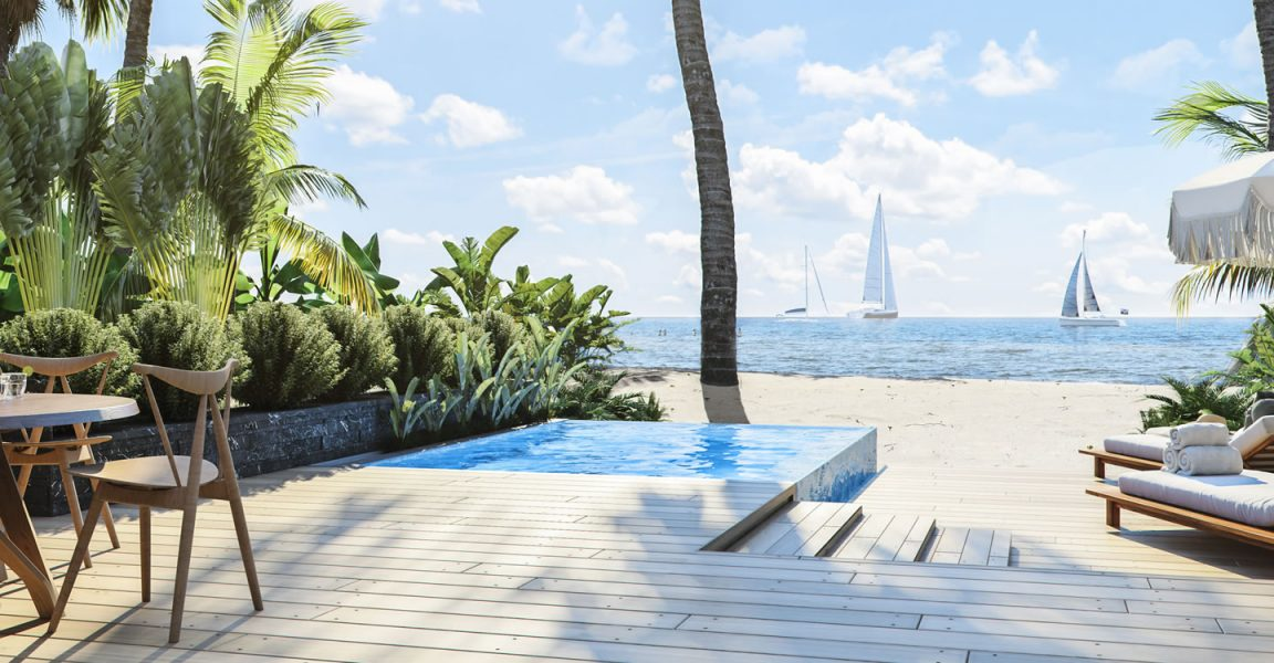 2 Bedroom Luxury Beach Houses For Placencia Belize 7th Heaven Properties