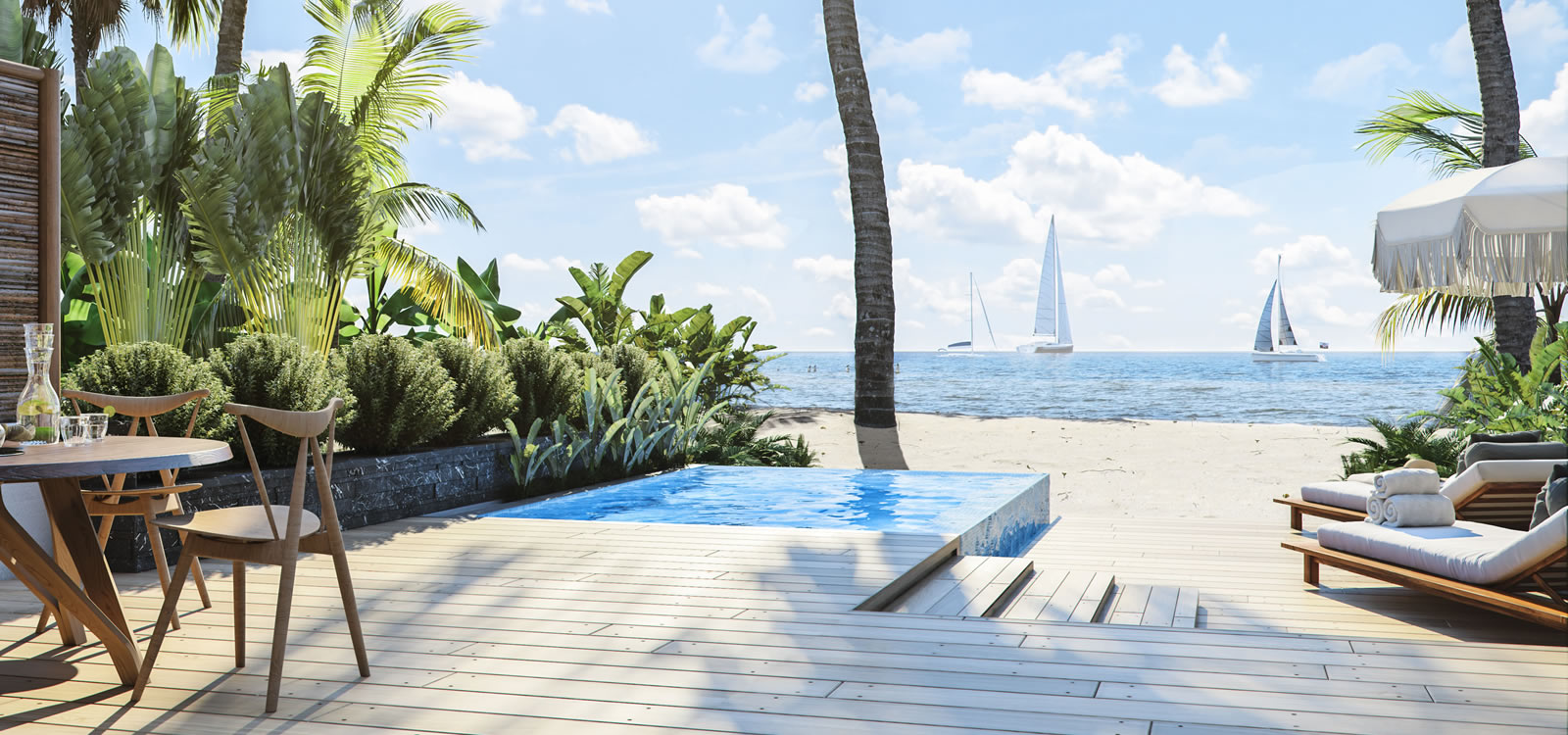 2 Bedroom Luxury Beach Houses For Sale Placencia Belize