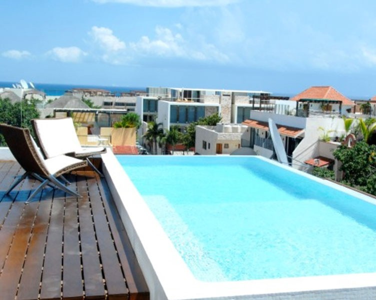 26 room boutique hotel for sale in playa del carmen for Best boutique hotels playa del carmen