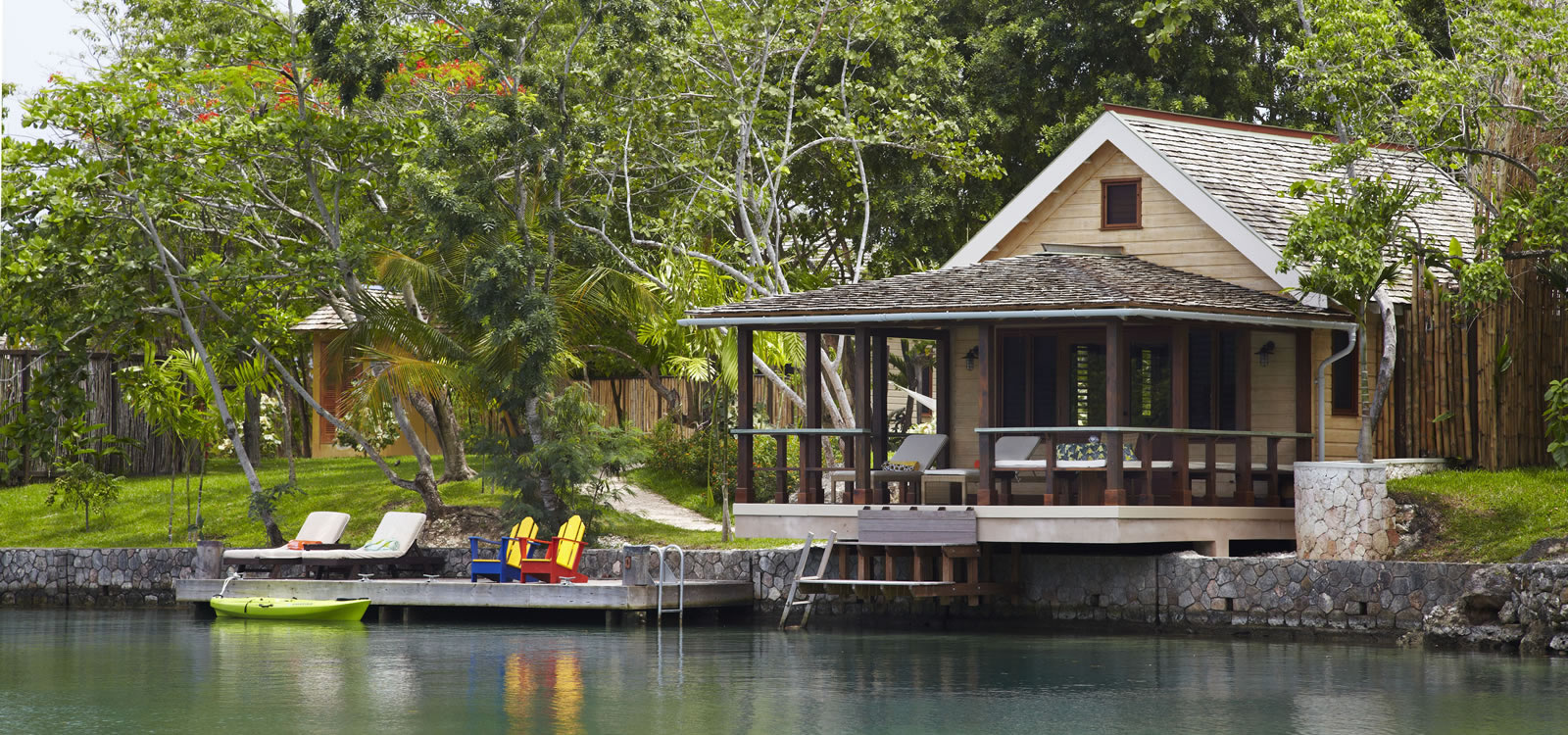 4 Bedroom Lagoon Cottages for Sale, Oracabessa, St Mary, Jamaica
