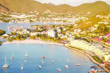 Dutch St Maarten- Aerial View