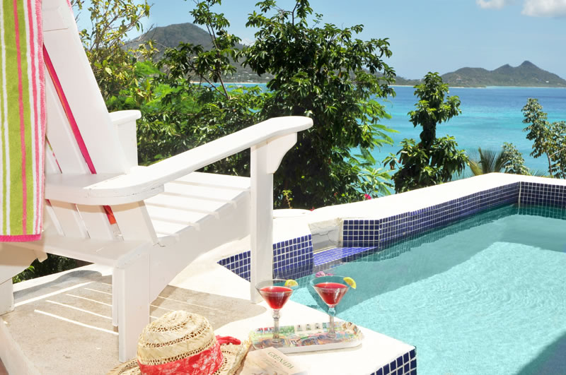 Home for sale, Carriacou, Grenada Grenadines - pool