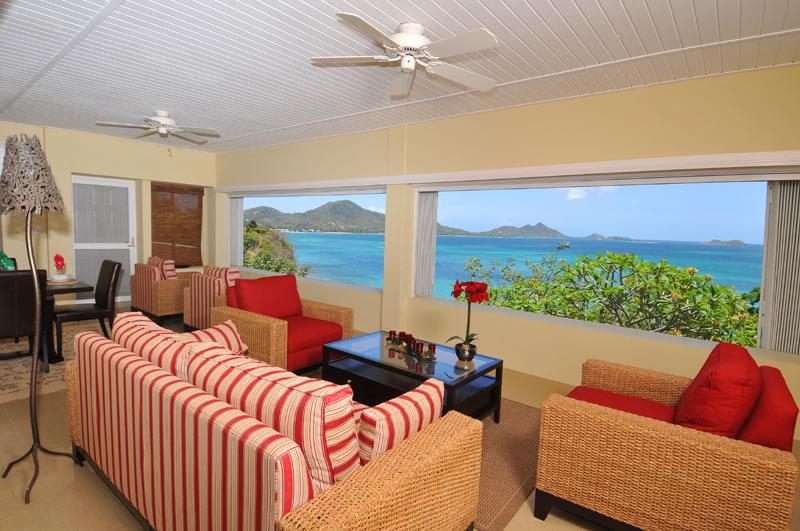 Home for sale, Carriacou, Grenada Grenadines - terrace