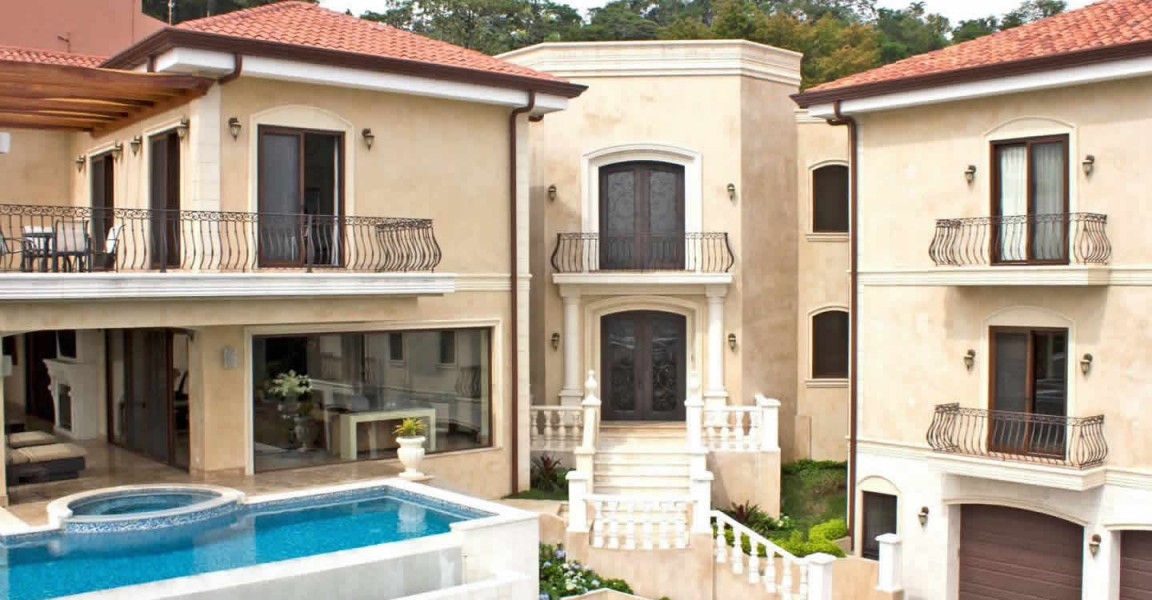 Lavish 4 bedroom luxury home for sale escazu san jose for Luxury rental costa rica