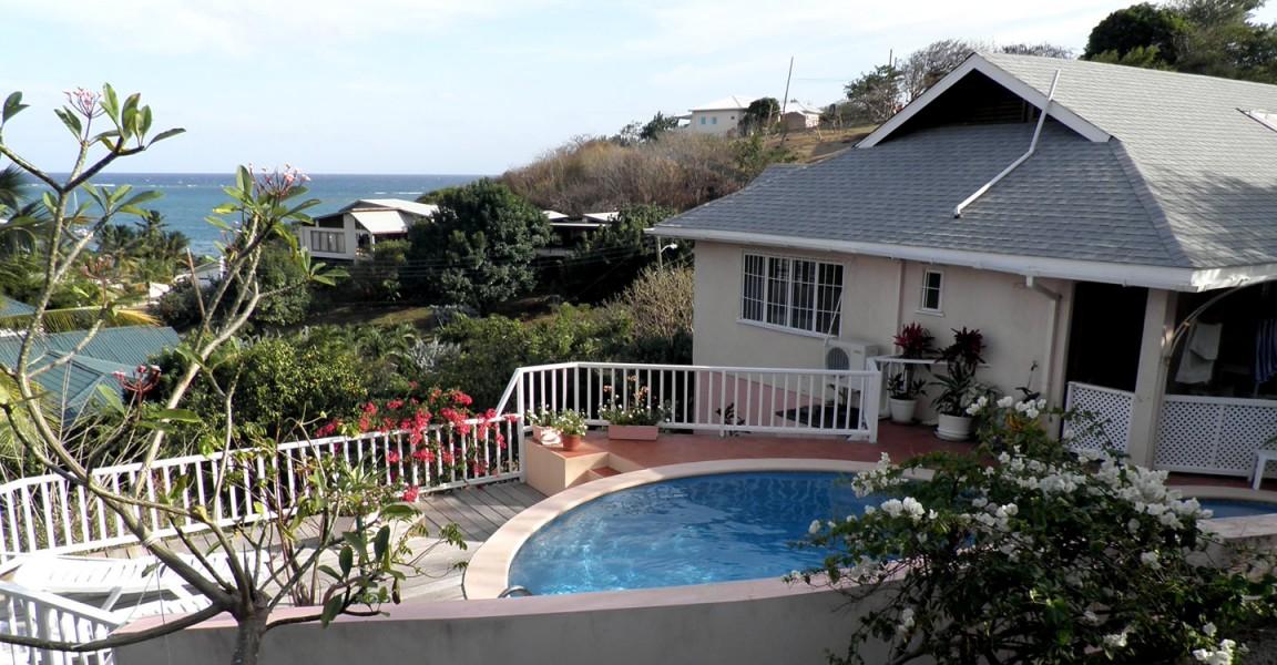 4 Bedroom Ocean View Home for Sale, Lance aux Epines, Grenada