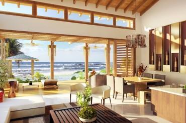 Homes for sale, Tela Bay, Atlantida, Honduras - living room