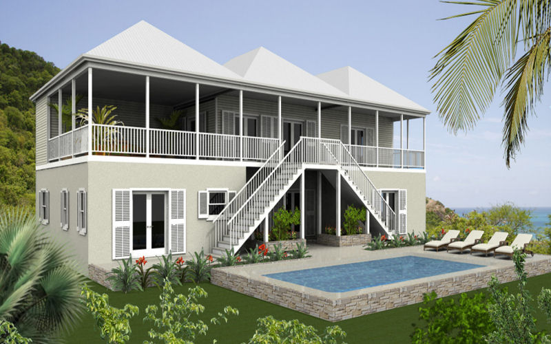 3 5 Bedroom Homes For Sale Darkwood Beach Antigua 7th Heaven Properties