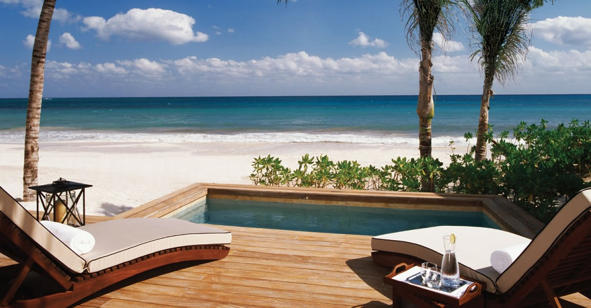 Bedroom Luxury Beachfront Homes For Sale Mayakoba Riviera Maya Mexico
