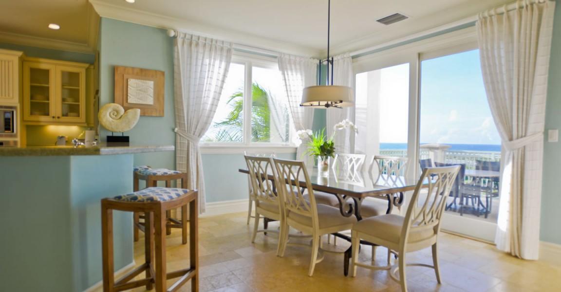 Luxury condos for sale, Great Exuma, Bahamas - dining room