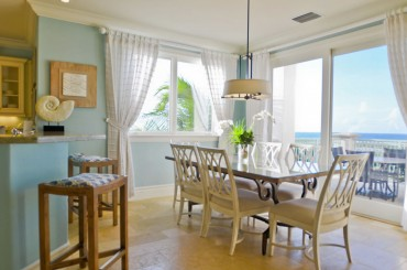 Luxury condos for sale, Great Exuma, Bahamas - dining room