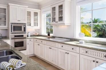 Luxury condos for sale, Great Exuma, Bahamas - kitchen
