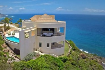 Luxury home for sale in St Kitts, Southeast Peninsula - aerial