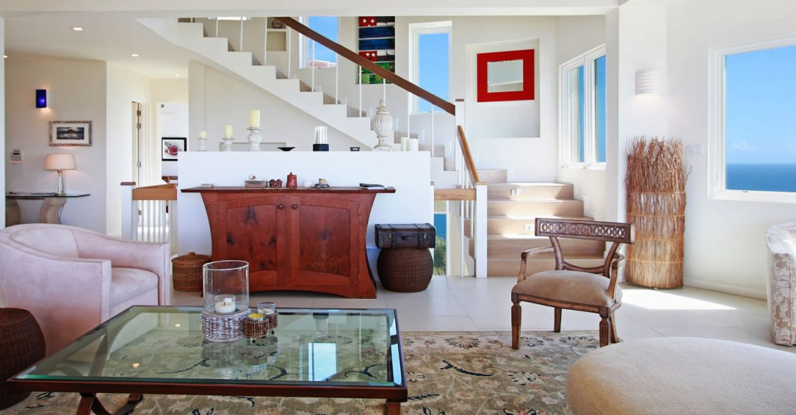 Luxury home for sale in St Kitts, Southeast Peninsula - living room