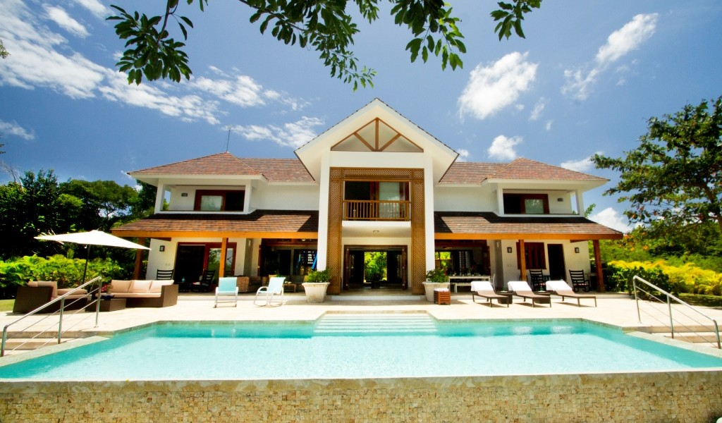 4 bedroom golf view home for sale in punta cana dominican for Homes for sale dominican republic punta cana