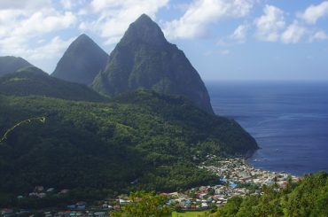 Pitons, Soufriere, St Lucia