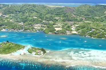 Roatan in the Bay Islands - Aerial