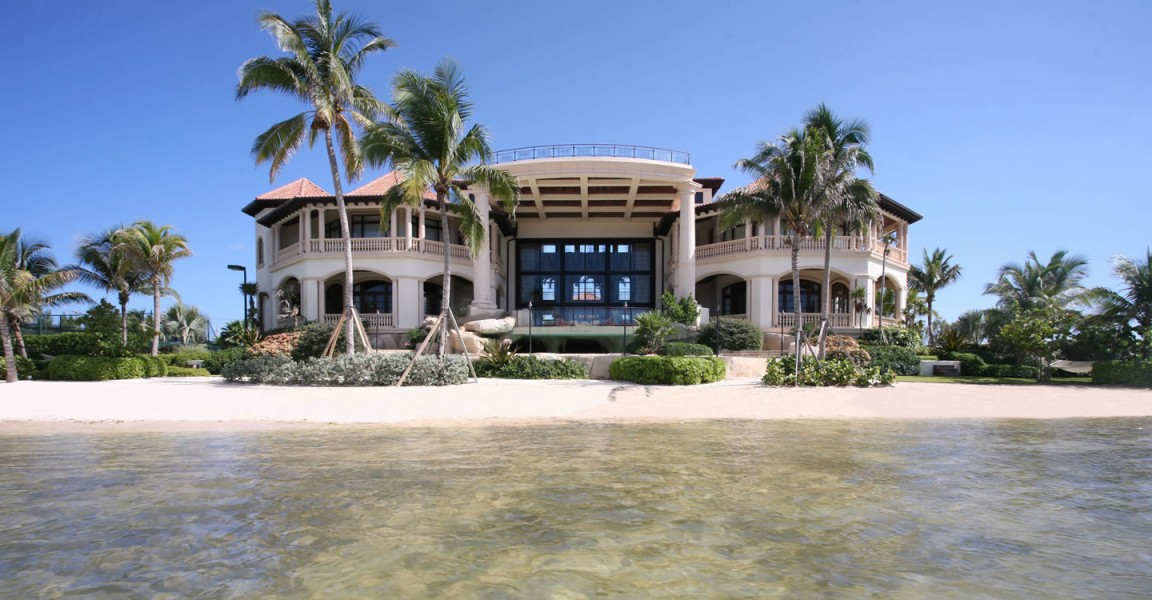 8 bedroom ultra luxury beachfront home for sale south for Luxury beachfront property for sale