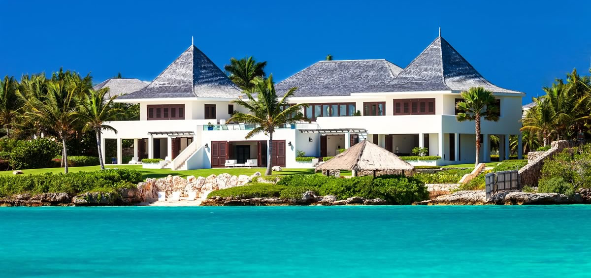10 bedroom ultra luxury beachfront home for sale little for Luxury beachfront property for sale