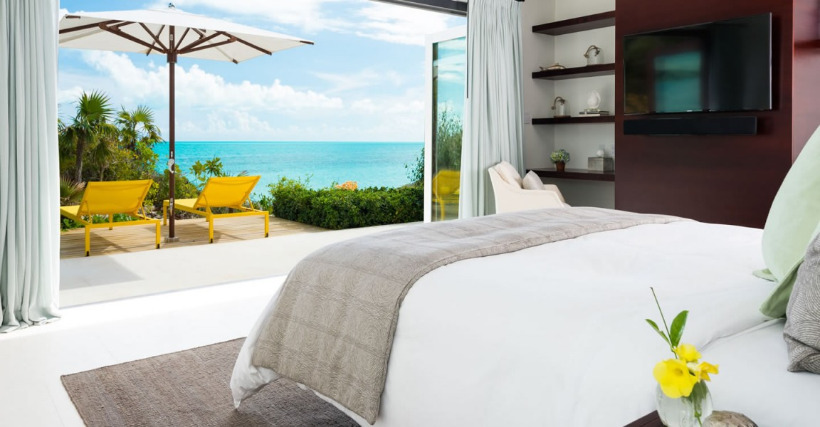 Ultra-luxury beachfront home for sale, Providenciales , Turks & Caicos - bedroom