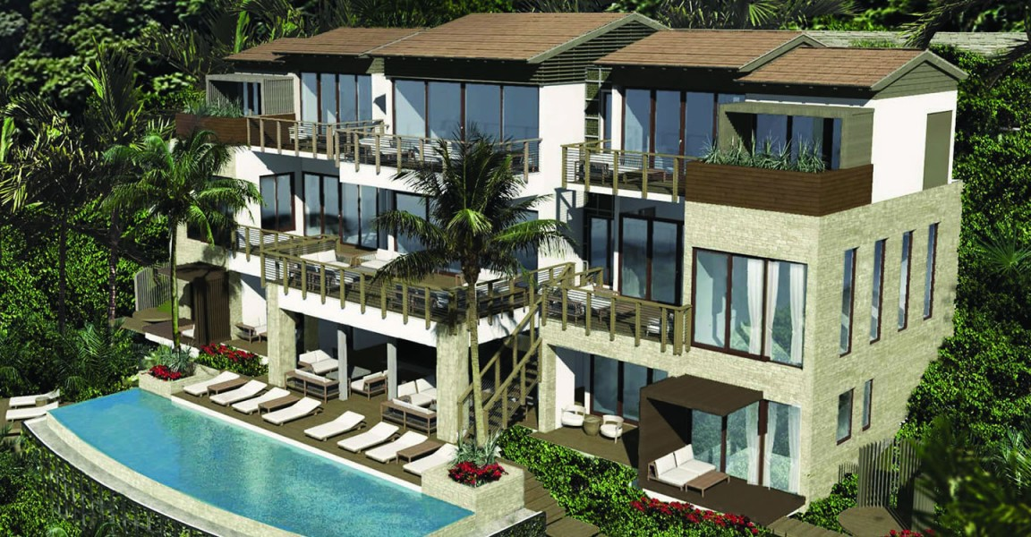 6 bedroom ultra luxury homes for sale soufriere st lucia for Six bedroom house for sale