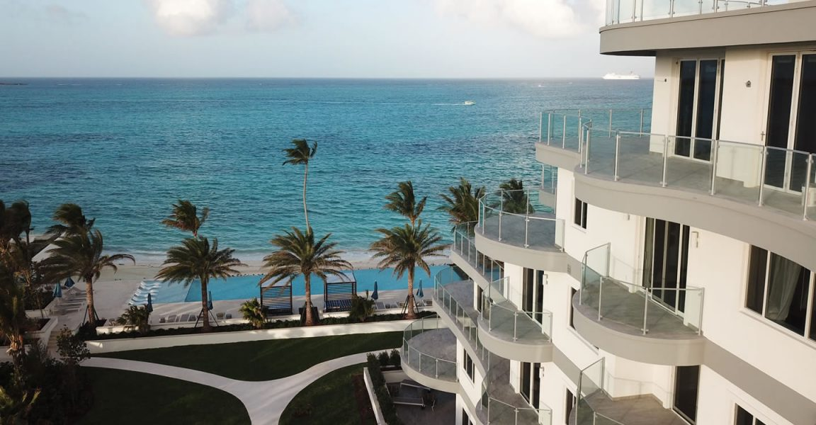1 Bedroom Beachfront Apartments For Sale Cable Beach Nassau Bahamas 7th Heaven Properties