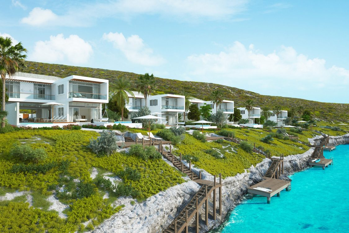 5 Bedroom Luxury Hillside Villa For Sale Turtle Tail Providenciales on Anguilla Real Estate