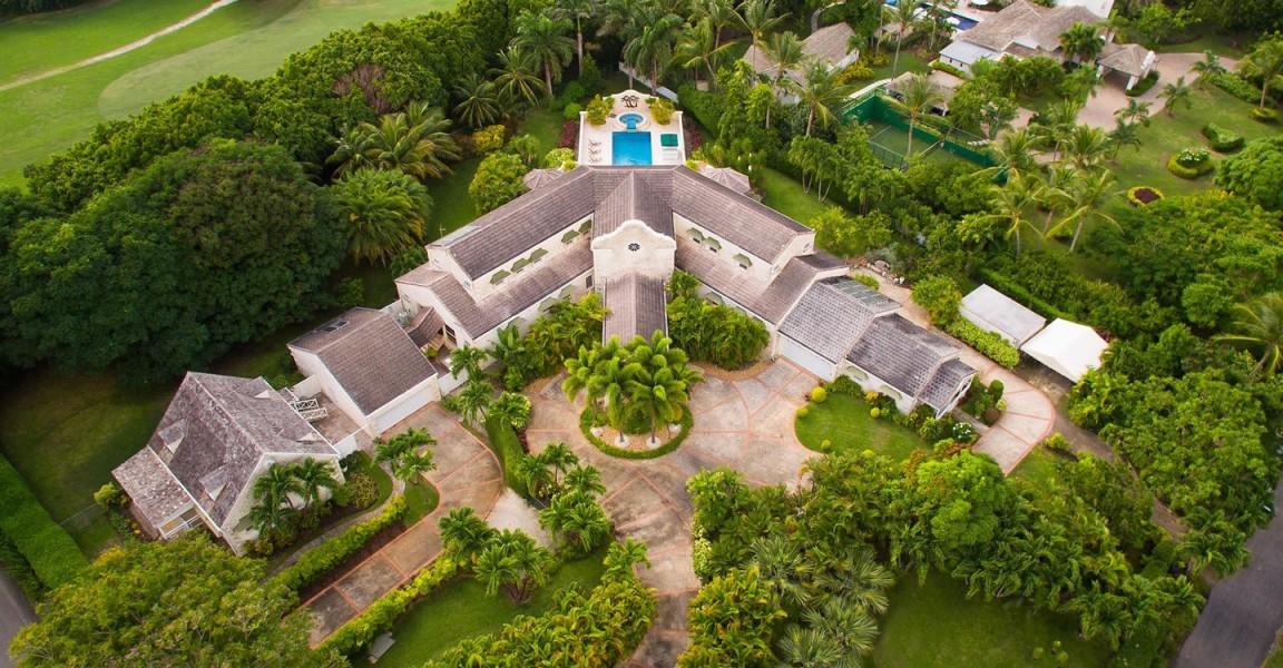 Magnificent estate for sale in Barbados's Sandy Lane