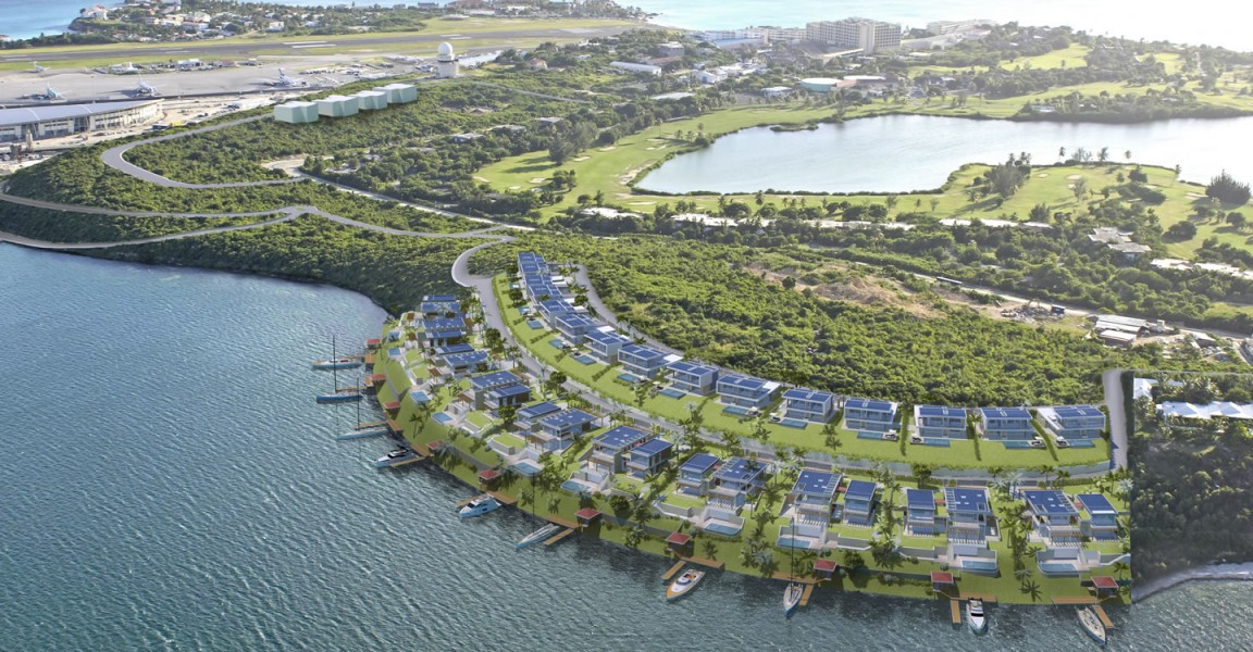 Lagoon View Home Sites For Sale Simpson Bay Lagoon St