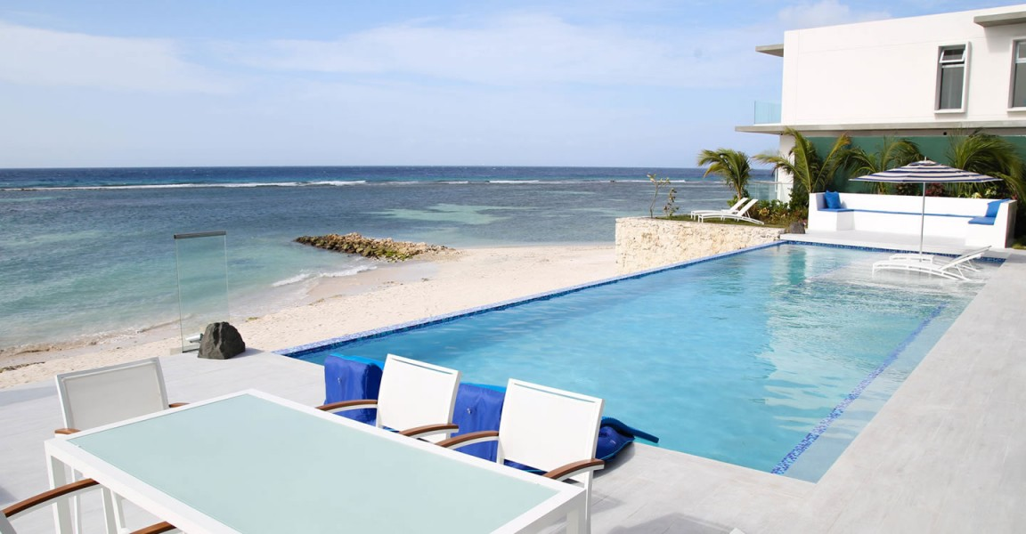 6 bedroom luxury beachfront home for sale savaneta aruba for Luxury beachfront property for sale