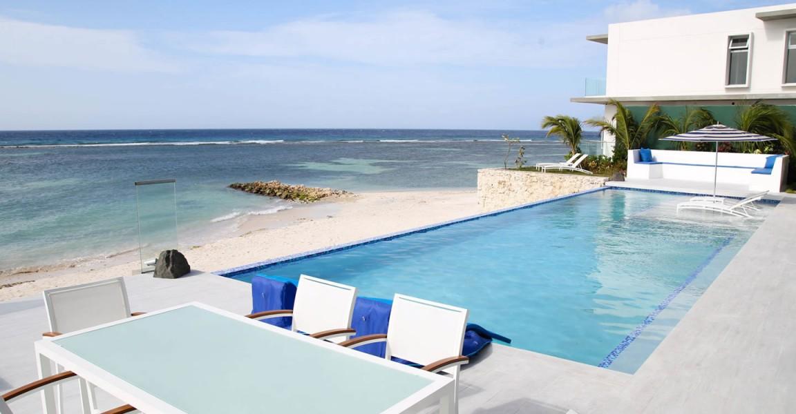 Superb 6 Bedroom Luxury Beachfront Home For Sale, Savaneta, Aruba