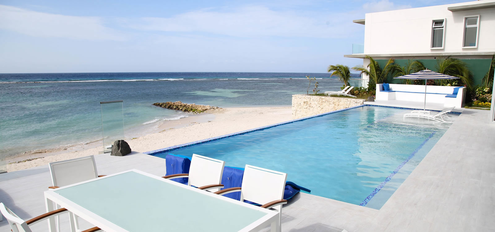Lovely 6 Bedroom Luxury Beachfront Home For Sale, Savaneta, Aruba