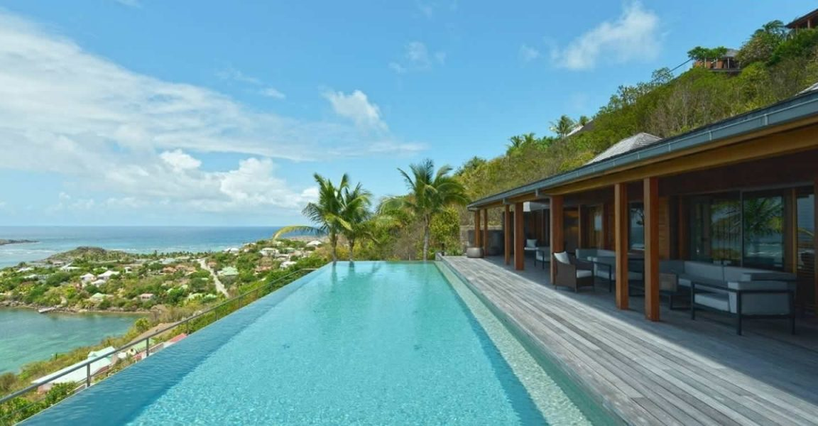 6 bedroom luxury villa for sale marigot st barts 7th for Marigot beach st barts