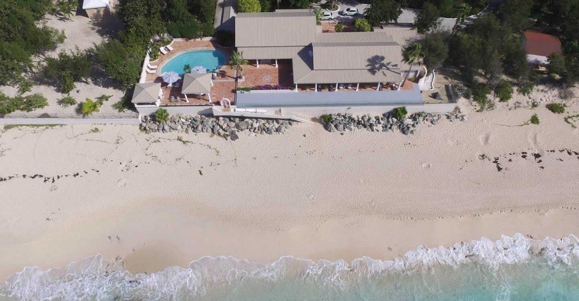 . 8 Bedroom Beach House for Sale  Baie Longue  Terres Basses  St