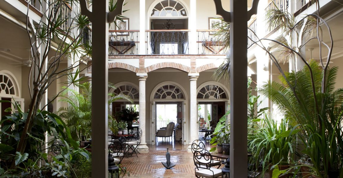 Dominican Republic hotel for sale in Las Terrenas, Samana - courtyard