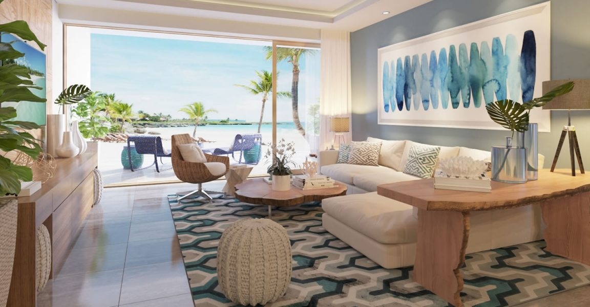 bedrooms for small spaces 2 bedroom luxury beachfront apartments for cap cana 14480