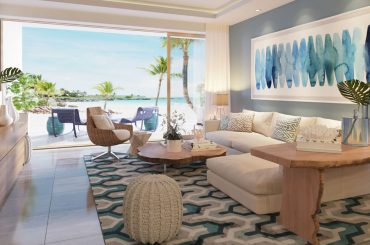 Luxury Beachfront Apartments for Sale, Cap Cana, Dominican Republic - living room