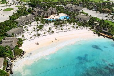 Luxury Beachfront Apartments for Sale, Cap Cana, Dominican Republic - aerial