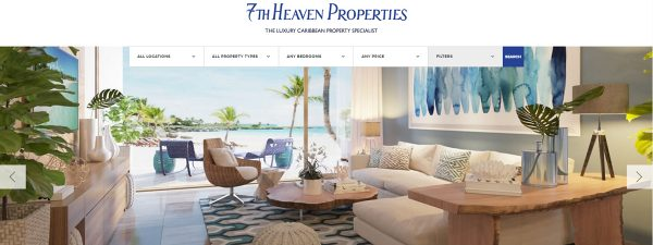 7th Heaven Properties launches new Caribbean real estate website