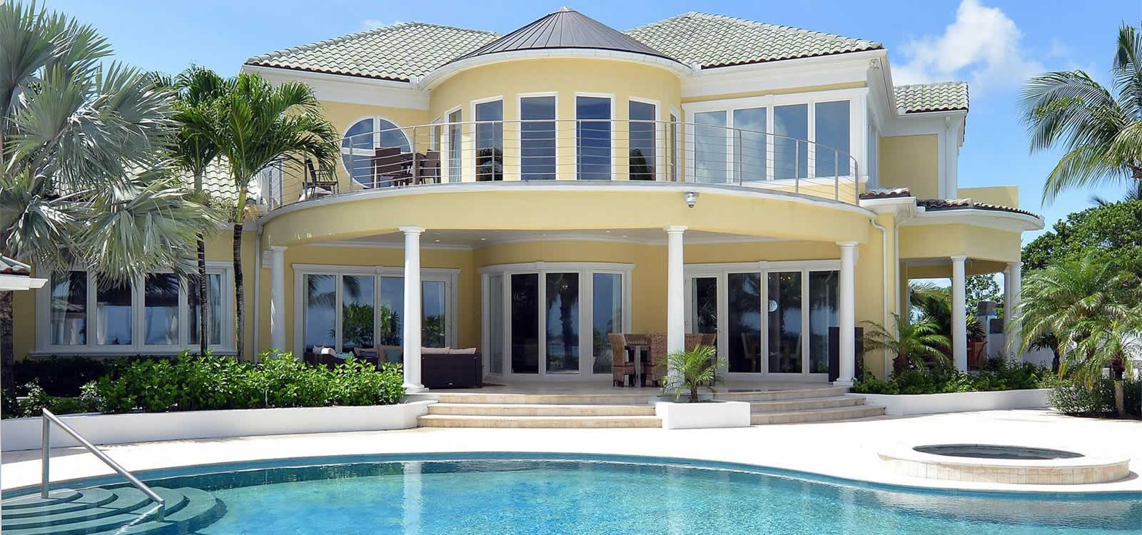 Bahamas Old Fort Bay Luxury Beachfront Home For Sale 9
