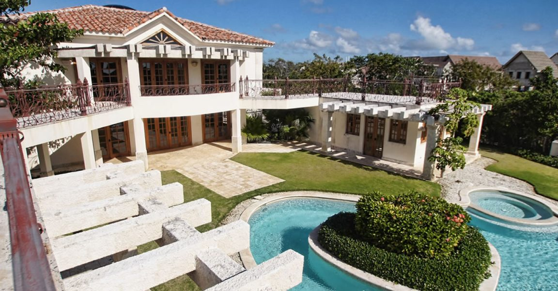 5 bedroom luxury house for sale in punta cana dominican for Homes for sale dominican republic punta cana