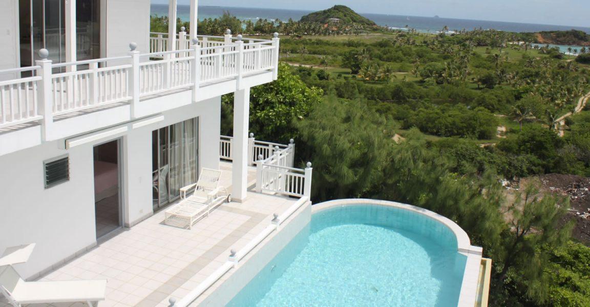 9 bedroom luxury beachfront villa guest house for sale for Houses for sale with guest house on property