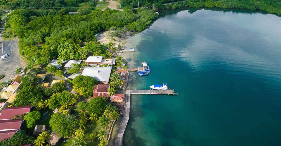Dive resort for sale dixon cove roatan 7th heaven - Roatan dive sites ...